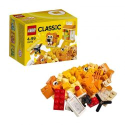 لگو جعبه خلاق نارنجی ۶۰ قطعه سری LEGO CLASSIC