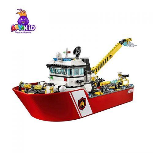 لگو قایق آتشنشانی ۴۱۲ قطعه سری LEGO CITY4