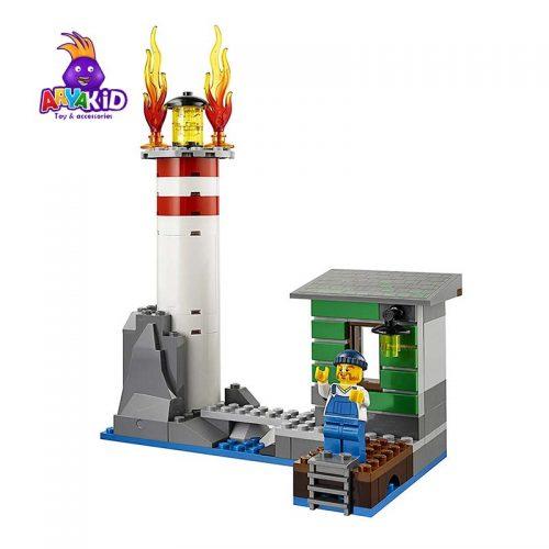 لگو قایق آتشنشانی ۴۱۲ قطعه سری LEGO CITY5