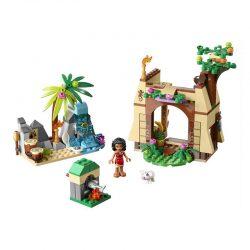 لگو ماجراجویی موانا ۲۰۵ قطعه سری LEGO DISNEY