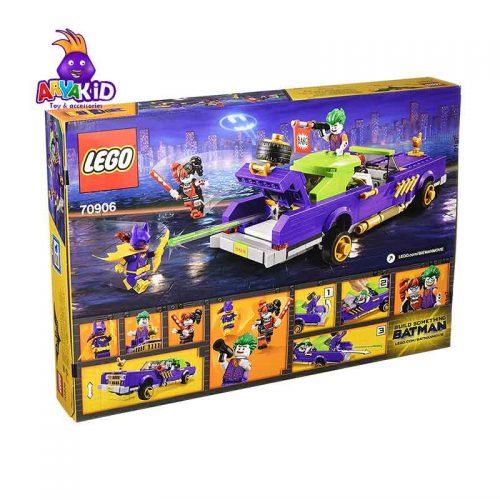 لگو ماشین جوکر ۴۳۳ قطعه سری LEGO BATMAN5