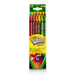 مداد رنگی ۱۲ رنگ CRAYOLA مدل ۷۵۰۸