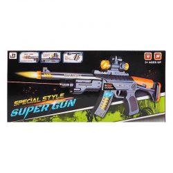 اسباب بازی تفنگ موزیکال مدل JQ6803A