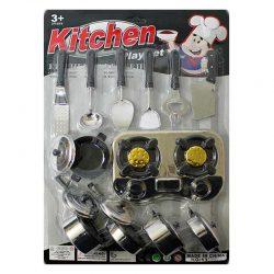 اسباب بازی ظروف آشپزخانه با گاز سیلور
