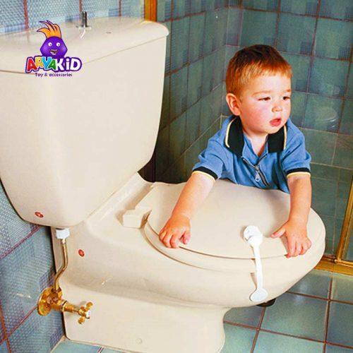 قفل توالت فرنگی دریم بیبی5
