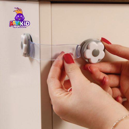 قفل کابینت کودک طرح گل دریم بیبی2