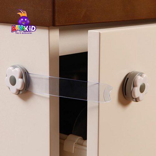 قفل کابینت کودک طرح گل دریم بیبی