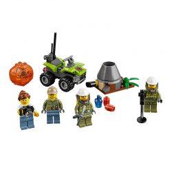 لگو آتشفشان ۸۳ قطعه سری LEGO CITY