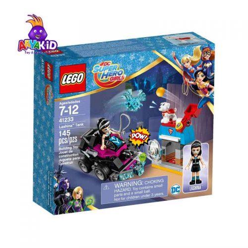 لگو تانک ۱۴۵ قطعه سری LEGO Super Hero Girls