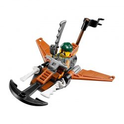 لگو جت لنگردار ۳۸ قطعه سری LEGO Ninjago