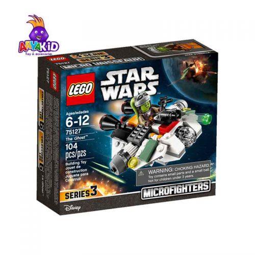 لگو سفینه اشباح ۱۰۴ قطعه سری LEGO Star Wars3