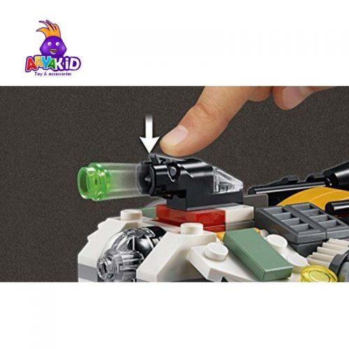 لگو سفینه اشباح ۱۰۴ قطعه سری LEGO Star Wars4