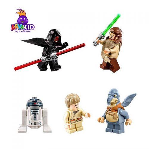 لگو سفینه نفوذی ۶۶۲ قطعه سری LEGO Star Wars3