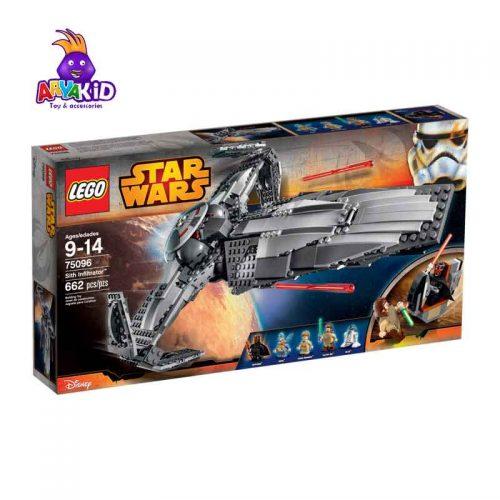 لگو سفینه نفوذی ۶۶۲ قطعه سری LEGO Star Wars4