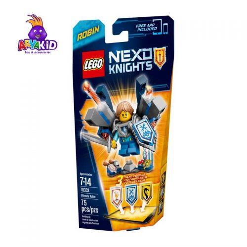 لگو شوالیه رابین ۷۵ قطعه سری LEGO NEXO Knights4