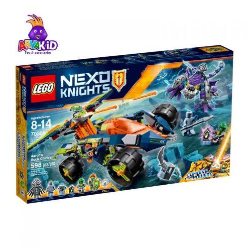 لگو صخره نورد ۵۹۸ قطعه سری LEGO NEXO Knights8