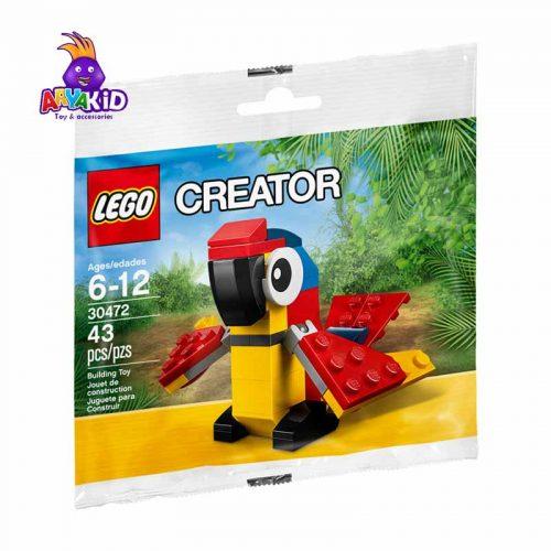 لگو طوطی ۴۳ قطعه سری LEGO Creator1