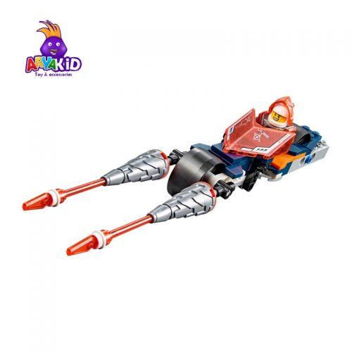 لگو ماشین جاستر ۲۱۶ قطعه سری LEGO NEXO Knights3