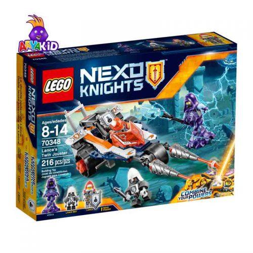 لگو ماشین جاستر ۲۱۶ قطعه سری LEGO NEXO Knights8