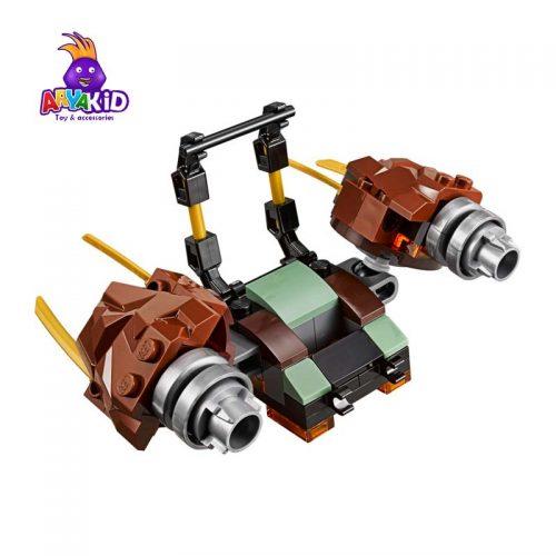 لگو ماشین جنگی ۴۰۶ قطعه سری LEGO Ninjago2