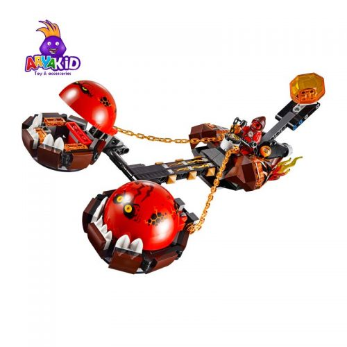 لگو ماشین عقربی ۳۱۴ قطعه سری LEGO NEXO Knights1
