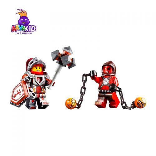 لگو ماشین عقربی ۳۱۴ قطعه سری LEGO NEXO Knights