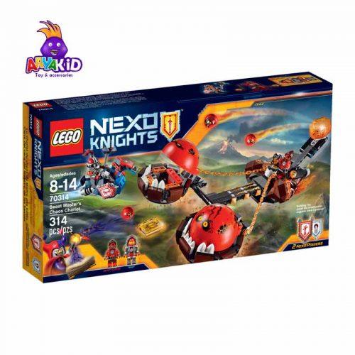 لگو ماشین عقربی ۳۱۴ قطعه سری LEGO NEXO Knights5
