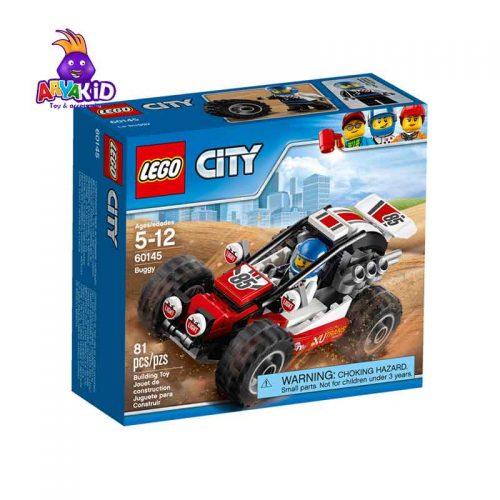 لگو ماشین مسابقه ۸۱ قطعه سری LEGO CITY