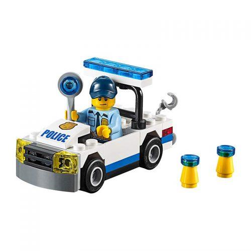 لگو ماشین پلیس ۵۰ قطعه سری LEGO CITY