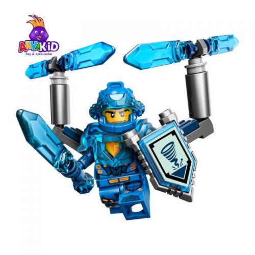 لگو شوالیه کلای ۷۲ قطعه سری LEGO NEXO Knights