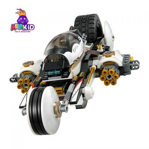 لگو مهاجم جنگی ۱۰۹۳ قطعه سری LEGO Ninjago3