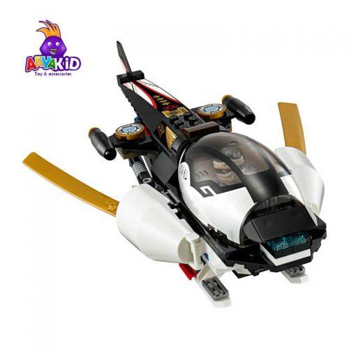 لگو مهاجم جنگی ۱۰۹۳ قطعه سری LEGO Ninjago4
