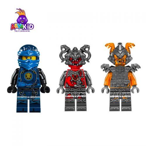 لگو موتورهای جنگی ۲۰۱ قطعه سری LEGO Ninjago2