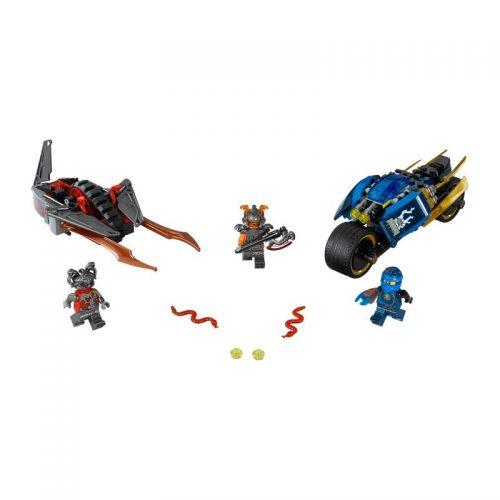 لگو موتورهای جنگی ۲۰۱ قطعه سری LEGO Ninjago