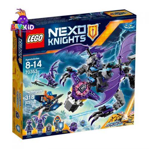 لگو هلگوییل ۳۱۸ قطعه سری LEGO NEXO Knights8