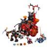 لگو کالسکه شیطانی ۶۵۸ قطعه سری LEGO NEXO Knights