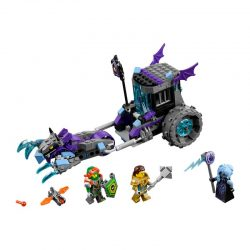 لگو کالسکه ۲۰۸ قطعه سری LEGO NEXO Knights