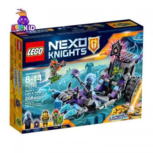 لگو کالسکه ۲۰۸ قطعه سری LEGO NEXO Knights7