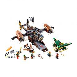 لگو کشتی فضایی ۷۵۴ قطعه سری LEGO Ninjago