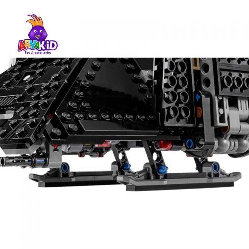 لگو کشتی فضایی ۸۶۳ قطعه سری LEGO Star Wars5