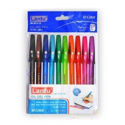 خودکار ۱۰ رنگ ژله ای LANTU