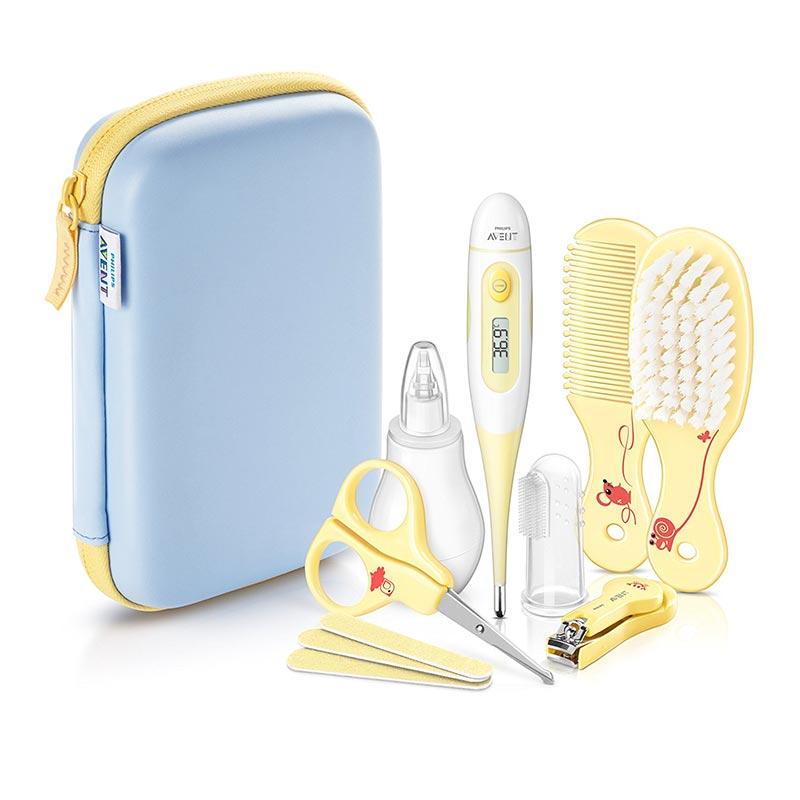ست بهداشتی و پرستاری 10 تکه کودک اونت | Philips Avent Baby Care set – SCH400/00