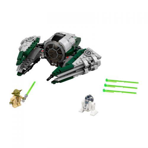 لگو استارفایتر یودا ۲۶۲ قطعه سری Star Wars