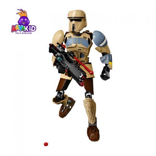 لگو مدل Scarif Stormtrooper سری LEGO Star Wars1
