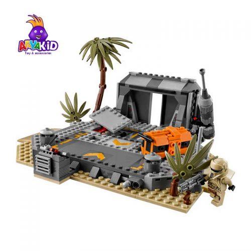 لگو نبرد در اسکارف ۴۱۹ قطعه سری LEGO Star Wars1
