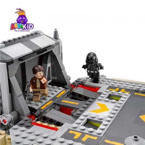 لگو نبرد در اسکارف ۴۱۹ قطعه سری LEGO Star Wars2