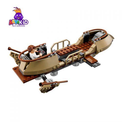 لگو گودال سارلاک ۲۷۷ قطعه سری LEGO Star Wars2
