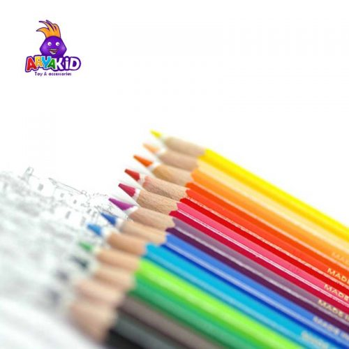 مداد رنگی ۱۲ رنگ جعبه مقوایی STAEDTLER1