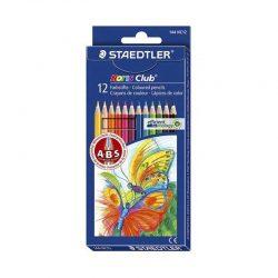 مداد رنگی ۱۲ رنگ جعبه مقوایی STAEDTLER