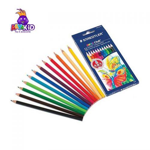 مداد رنگی ۱۲ رنگ جعبه مقوایی STAEDTLER5